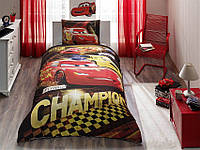ТАС Детское постельное бельё  Cars Champion ( Карс Чемпион)