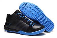 Мужские кроссовки Adidas Daroga Black/Blue High
