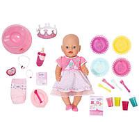 Zapf кукла Baby Born С днем рождения в одежде с аксессуарами