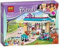 """Конструктор Bela Friends 10537 """"Ветеринарная клиника"""" (аналог LEGO Friends 41085), 203 дет"""