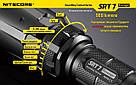 Nitecore SRT7, 960 люмен, 308 метров, 1x18650, RGB LED, фото 8