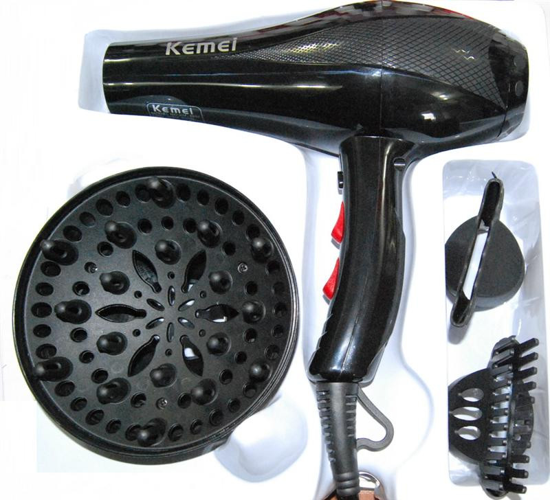 Фен с насадками и диффузором 1800W KM-8892