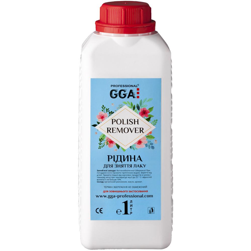 Жидкость  для снятия гель- лака, 1000 мл, GGA
