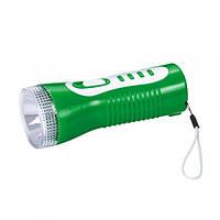 Фонарь аккумуляторный ручной Yajia yj-0918 1 led 2 режима, мощный ручной фонарик