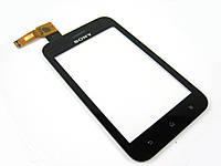 Тачскрин (сенсор) для Sony ST21i Xperia Tipo (black) Original