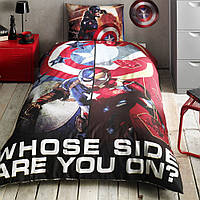ТАС постельное Captain America Movie ( Капитан Америка) без резинки