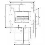 Блок управління Polster C-11 + вентилятор DP-02 для твердопаливних котлів, фото 4