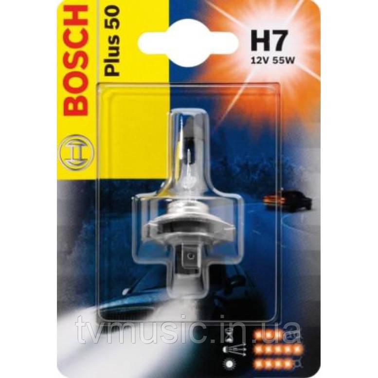 Автомобильная лампа Bosch Plus 50 H7 12V 55W (1987301042)