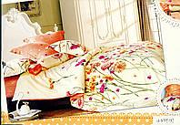 Постельное белье сатин 200х220см Н157 евро Word of Dream