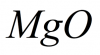 Магний оксид, чда MgO