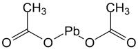 Свинец (II) уксуснокислый (ацетат) 3-водный, ч Pb(CH3COO)2