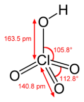 Хлорная кислота (1,5 кг) ч HClO4