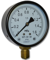 Манометр технический МТ-3У 100мм