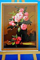 Картина на холсте по номерам Розалии