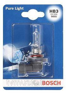 Автомобильная лампа Bosch Pure Light HB3 12V 60W (1987301062)