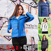 Куртка женская короткая на синтепоне WANG