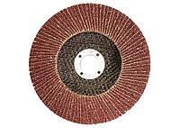 Лепестковый зачистной круг Matrix 115 мм, зернистость 25