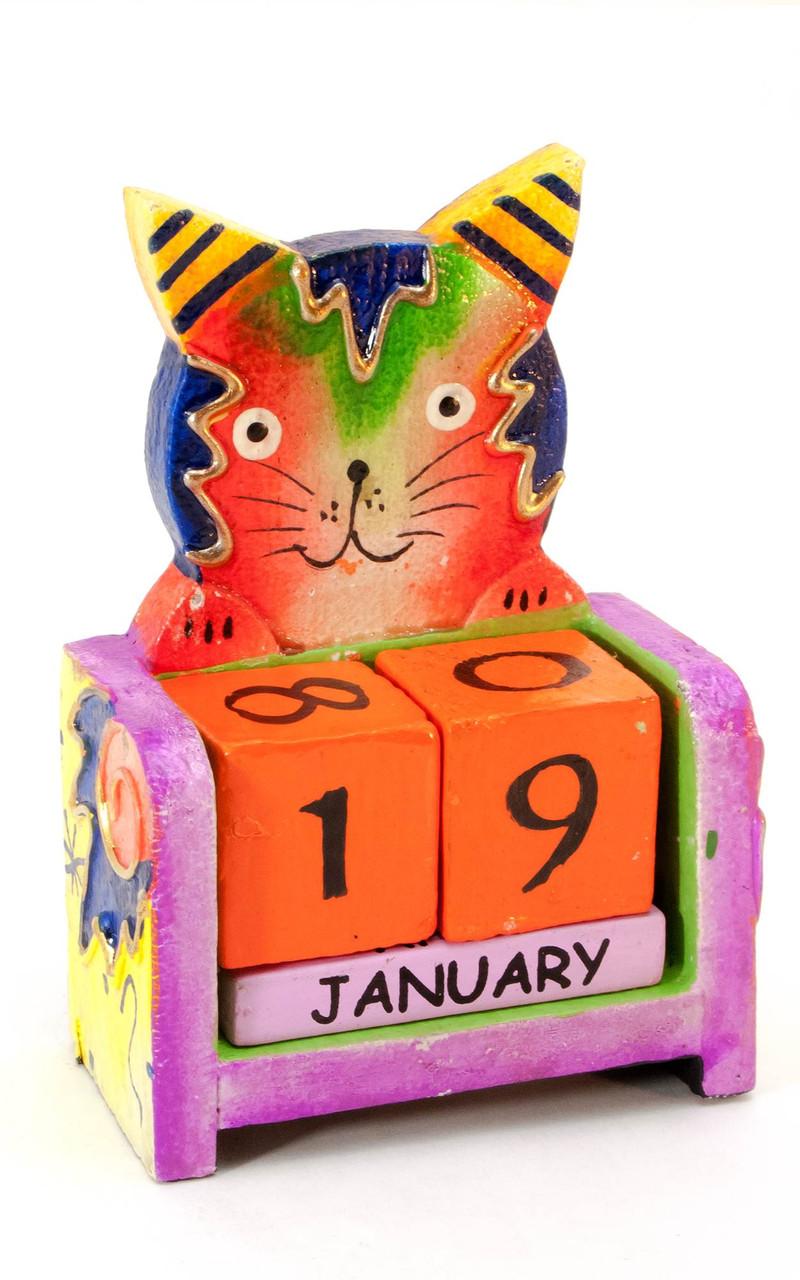 Яркий настольный календарь