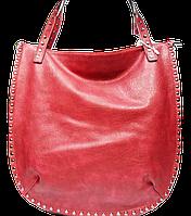 Превосходная женская сумка из искусственной кожи красного цвета WUG-554302