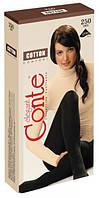 Женские хлопковые колготы Conte Cotton 250 den