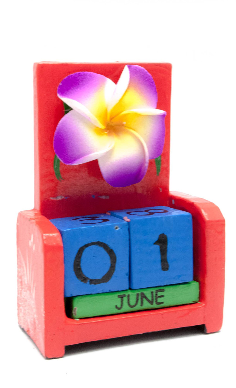 Цветок настольный календарь дерево