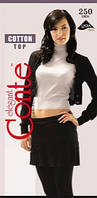 Женские хлопковые колготы Conte Cotton Top 250 den