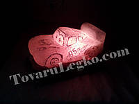 Лампа из соли - Молния Маквин (от 8 до 16 кг)