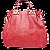 Привосходная женская сумка из искусственной кожи красного цвета TRL-109942