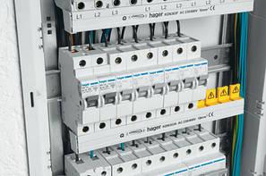 Автоматичні вимикачі Hager тип C 6кА
