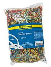 Резинка для денег (d = 55 мм.) 500 грамм, ассорти. BuroMax