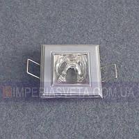 Светильник точечный встраиваемый для подвесного потолка FERON с стеклом LUX-314403