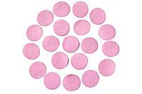 Фетровые круги заготовки Розовые 2 см 10 шт/уп