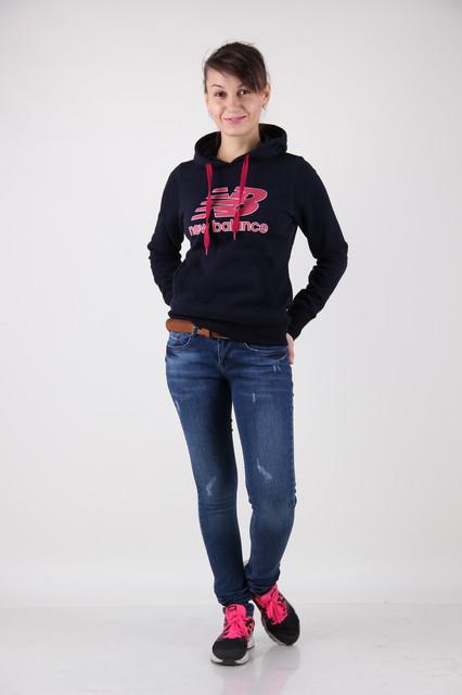 Средняя талия-женские джинсы