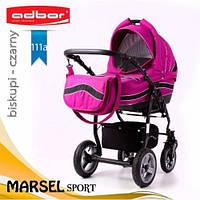 Детская коляска 3в1 ADBOR Marsel Sport (graphite - lilac)