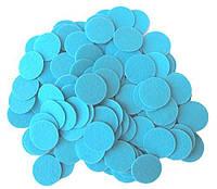 Фетровые круги заготовки Голубые 3 см 10 шт/уп