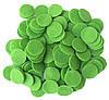 Фетровые круги заготовки Салатовые 2 см 10 шт/уп