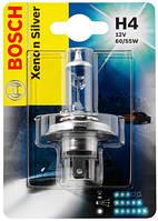 Автомобильная лампа Bosch Xenon Silver H4 12V 60/55W (1987301068)