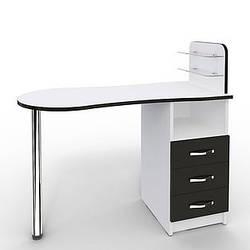 """Маникюрный стол складной """"Professional"""" с 3 выдвижными ящиками"""