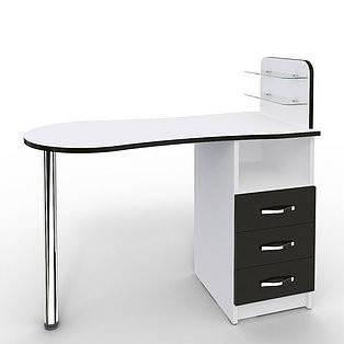 Маникюрный складной стол «Professional» с выдвижными ящиками