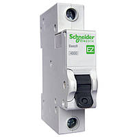 Автоматический выключатель Easy9 1р 6А, С, 4,5 кА (EZ9F34106)