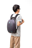 Рюкзак SHELL, цвет BLACK&STITCHES (черный со стежками), Zipit