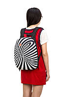 Рюкзак SHELL, цвет ZEBRA (черно-белый), Zipit