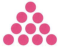 Фетровые круги заготовки Малиновые 3.5 см 10 шт/уп