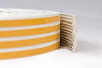 Профиль резиновый с самоклеющейся лентой SANOK -Е- Коричневый/Белый/Черный 150 м