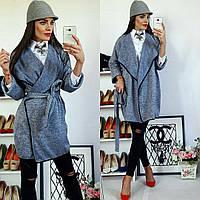 Кардиган  женский, модель  758, серый, фото 1