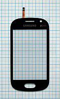 Тачскрин сенсорное стекло для Samsung S6810 Galaxy Fame black