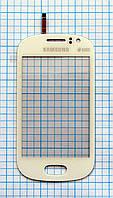 Тачскрин сенсорное стекло для Samsung S6810 Galaxy Fame white