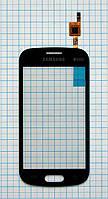 Тачскрин сенсорное стекло для Samsung S7392 Galaxy Trend Duos black