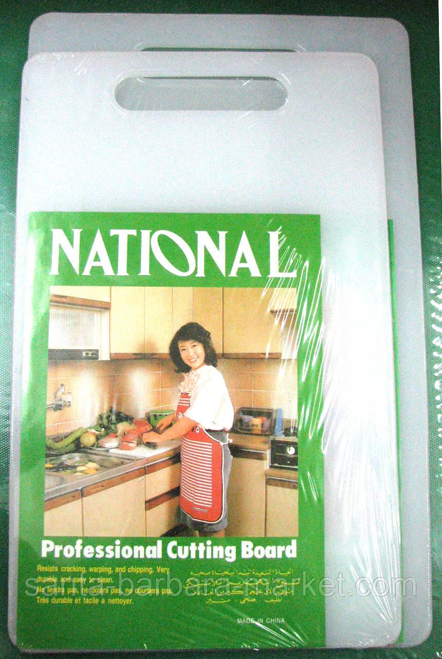 "Доска ""National"" пластик 20х33х0,5см"