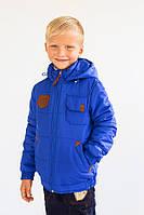 Демисезонная курточка casual для мальчика 5-8 лет (куртка осень / весна) ТМ Модный карапуз